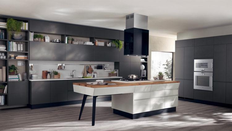 Cucina scavolini motus in esposizione nello store di rovato
